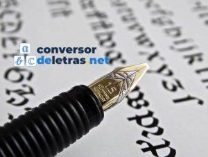 conversor-de-letras